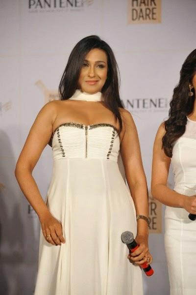 Rituparna Sengupta in white dress