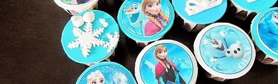 Header picture of Frozen cupcakes