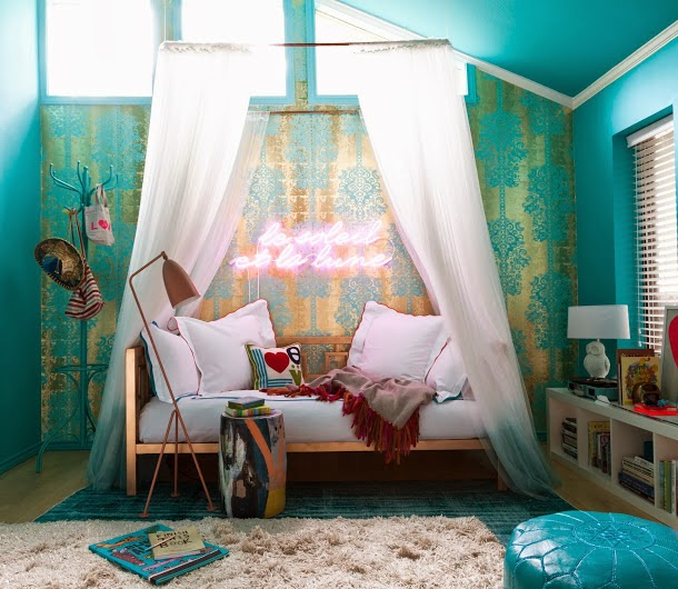 lovers of mint dco bohme et cool lifestyle - Chambre Vert Canard