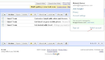 Gmail Multiple Login, How To Switch Multiple Accounts?