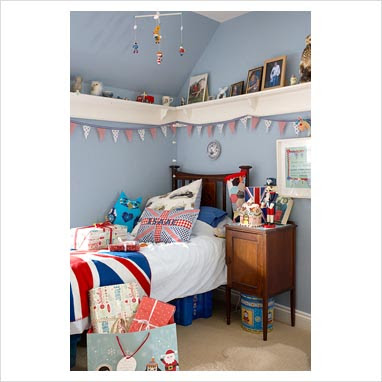 Dreams and wishes union jack interior ideas for Union jack bedroom ideas
