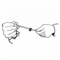Magia con la goma elástica - el anillo