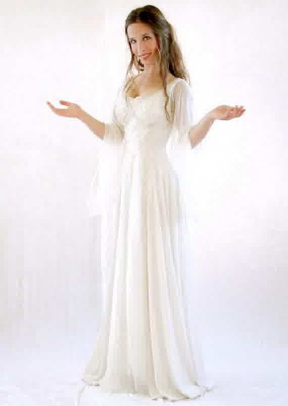 Dramatic Irish Celtic Wedding Gowns | bridal wedding fashion