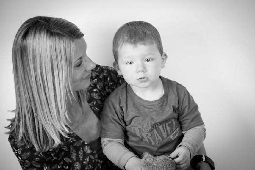Théau et maman