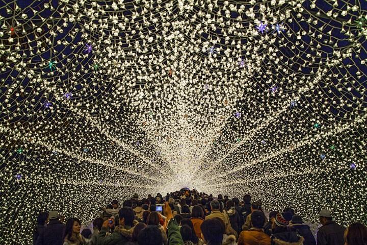 Tunnel of Lights. Фестиваль света