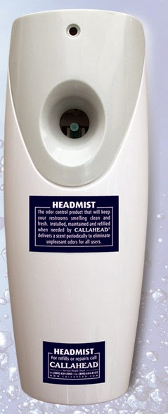 HeadMist Automatic Air freshener by CALLAHEAD