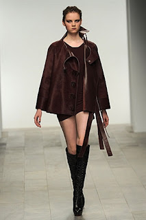 Mark Fast A/W 2011 jacket and boots