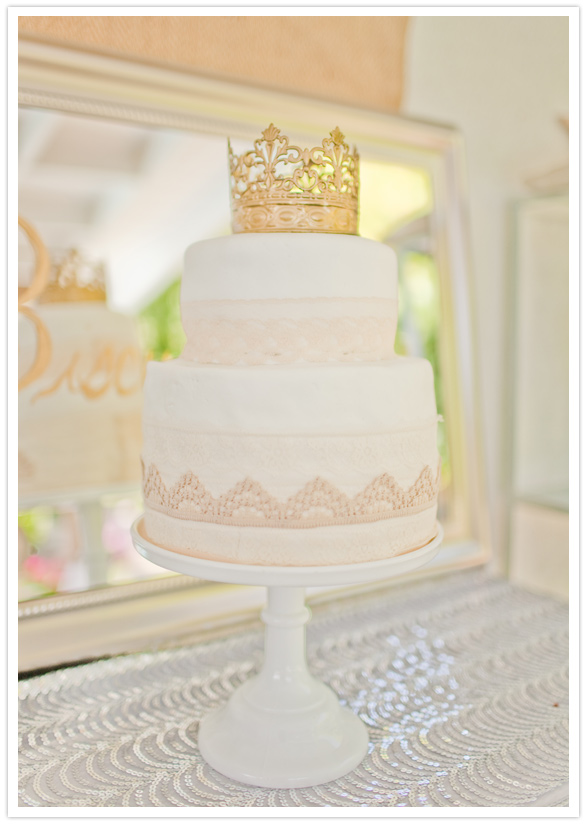 Sparkly, Vintage Dream of a Baby Shower . . .