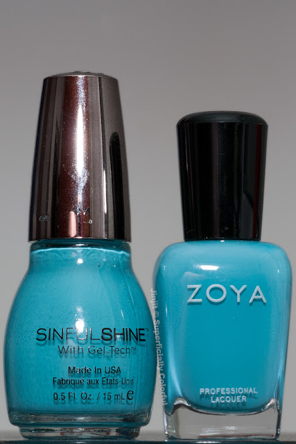 Zoya Rocky  Sinful Shine At Sea