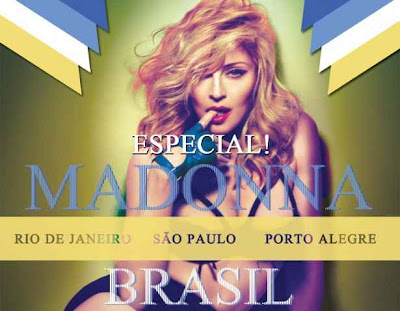Show Madonna no Brasil 2012 ingressos RJ SP e Porto Alegre