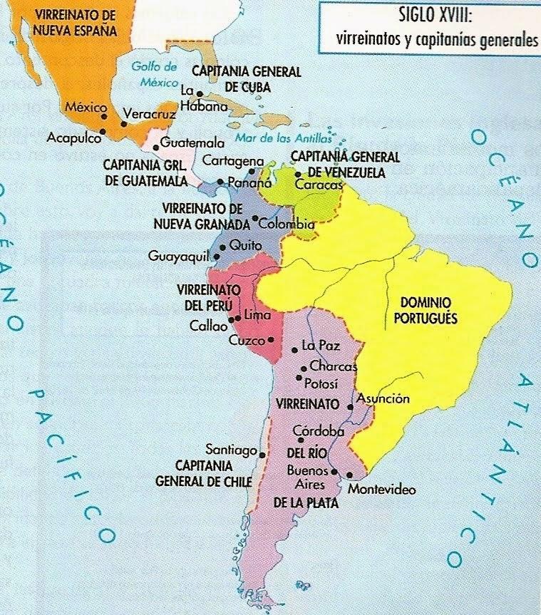Mapa Actual De America
