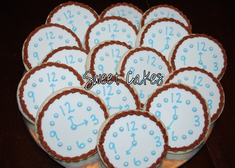 Sweet Cakes Around the Clock Bridal Shower
