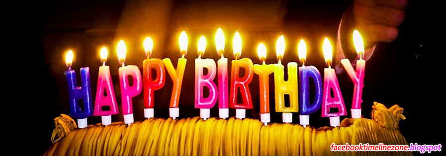 Facebook Timeline Zone Beautiful Happy Birthday Candles Facebook – Birthday Greetings Facebook