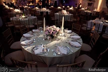 Decoração das bodas de prata