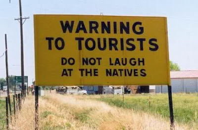Funny English Tourist Board
