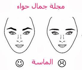 بالصور شكل حاجبيك على حسب شكل وجهك مجلة جمال حواء