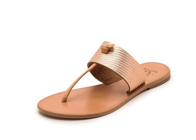 Rosegold Nice Sandals Joie