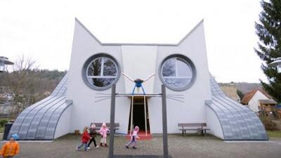 TK Wolfartsweier, Jerman - 7 Gedung Sekolah Berbentuk Unik di Dunia