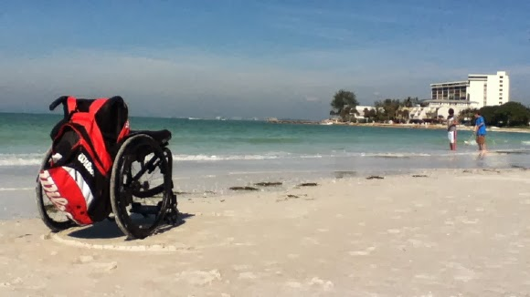 Urlaub im Rollstuhl in Florida USA