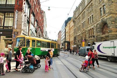 Hoy visitamos Helsinki, la capital de Finlandia