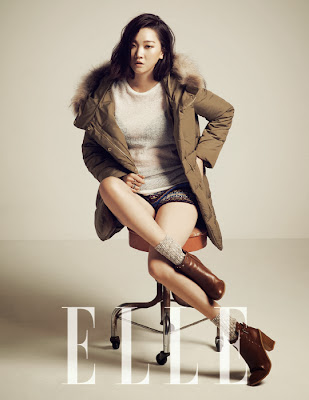 Jang Yoon Joo - Elle Magazine December Issue 2013