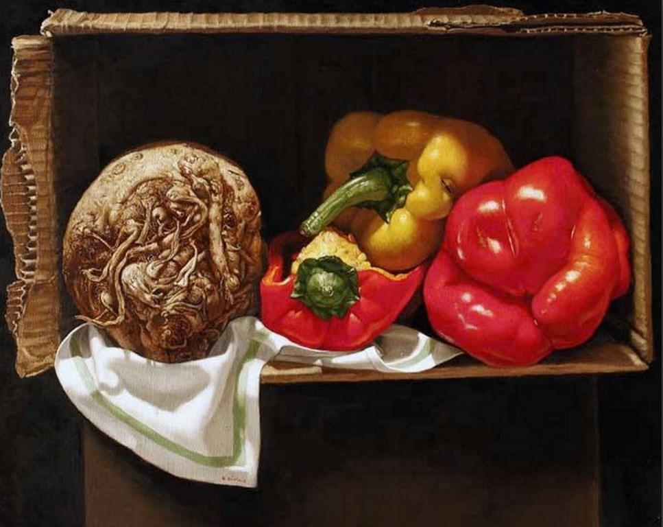 Pintura moderna y fotograf a art stica fotos de - Fotos de bodegones de frutas ...