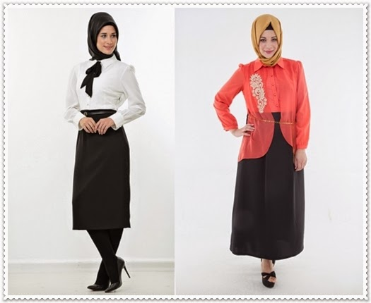 Puane Plus Büyük Beden Tesettür Elbise Modelleri