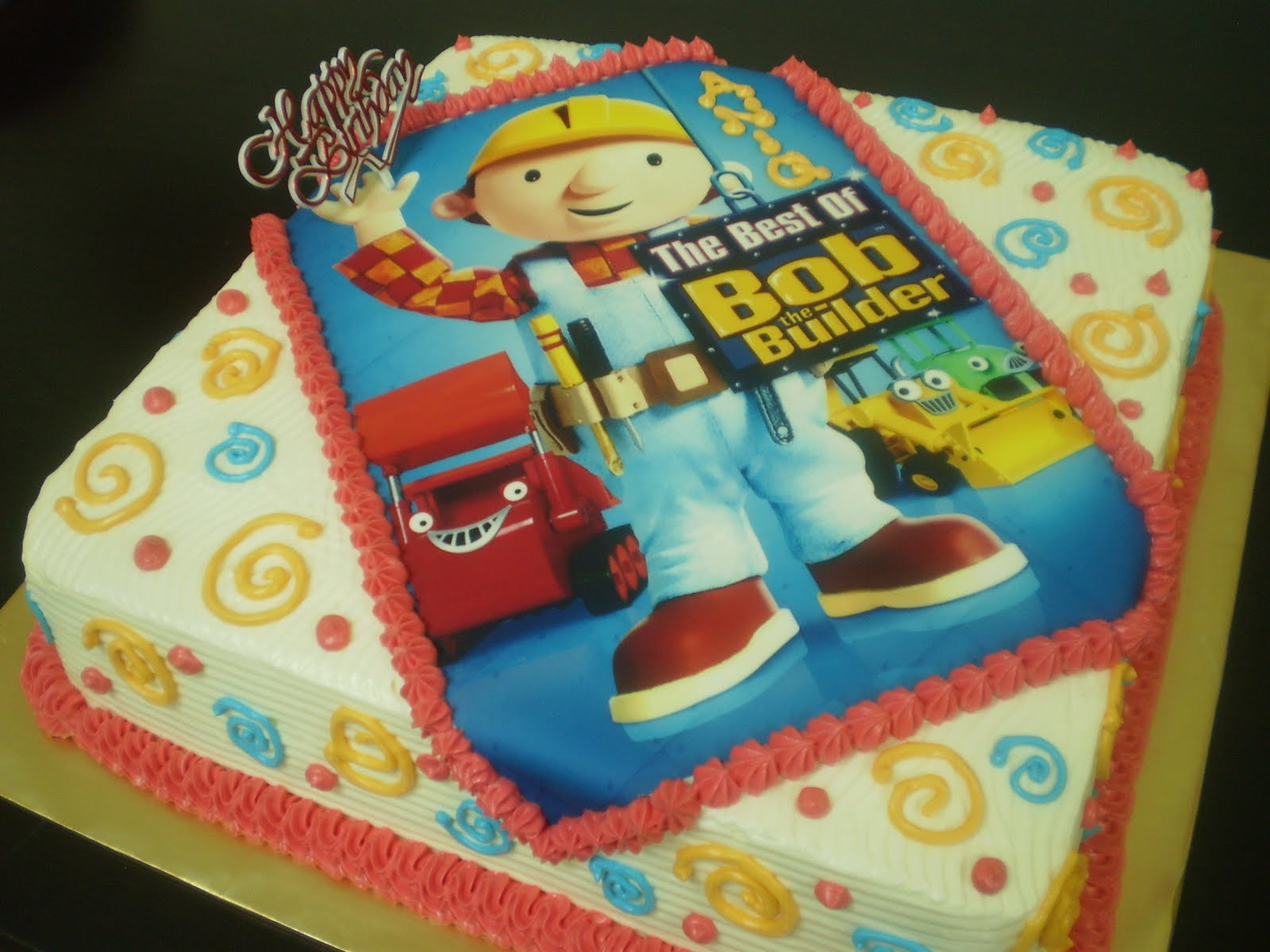Aniesbakehouse The Best Of Bob The Builder Cake