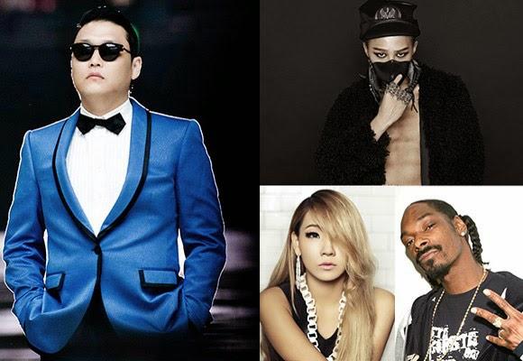 G-Dragon, CL, Psy quay MV mới cùng Snoop Dogg