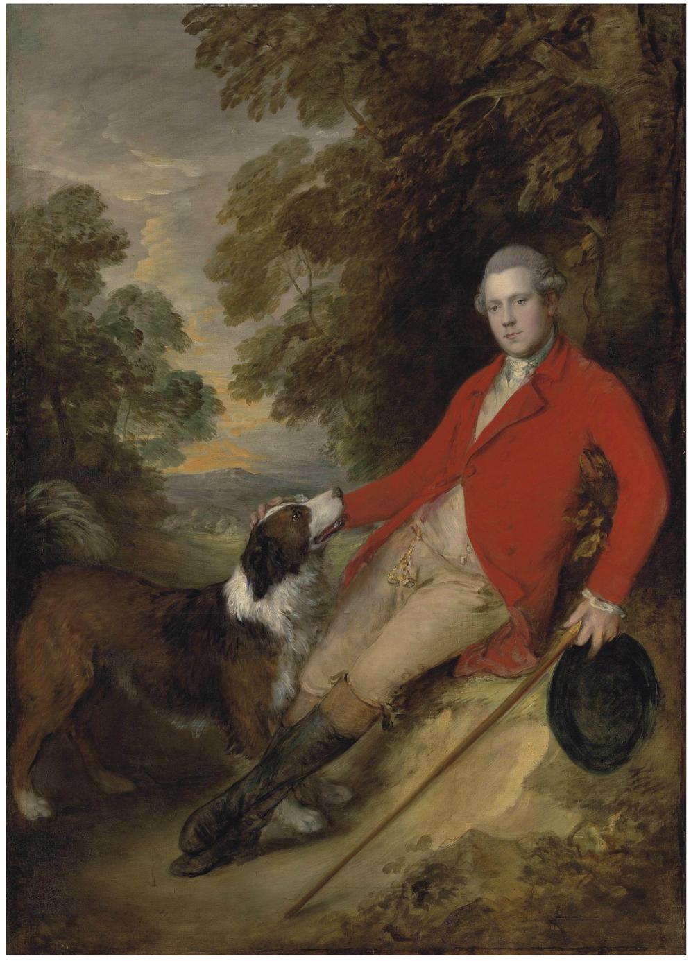 Открытки с репродукциями: Томас Гейнсборо (1727-1788) - Портрет 5 ...
