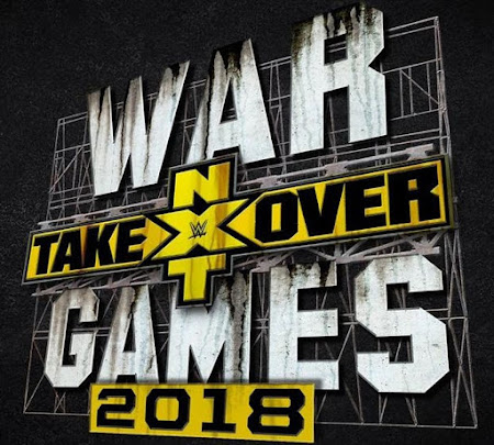 Poster Of WWE NXT Takeover Wargames II 18th November 2018 HDTV 480P 300MB