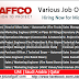 Job Vacancies | NAFFCO - UAE | Saudi Arabia | Qatar