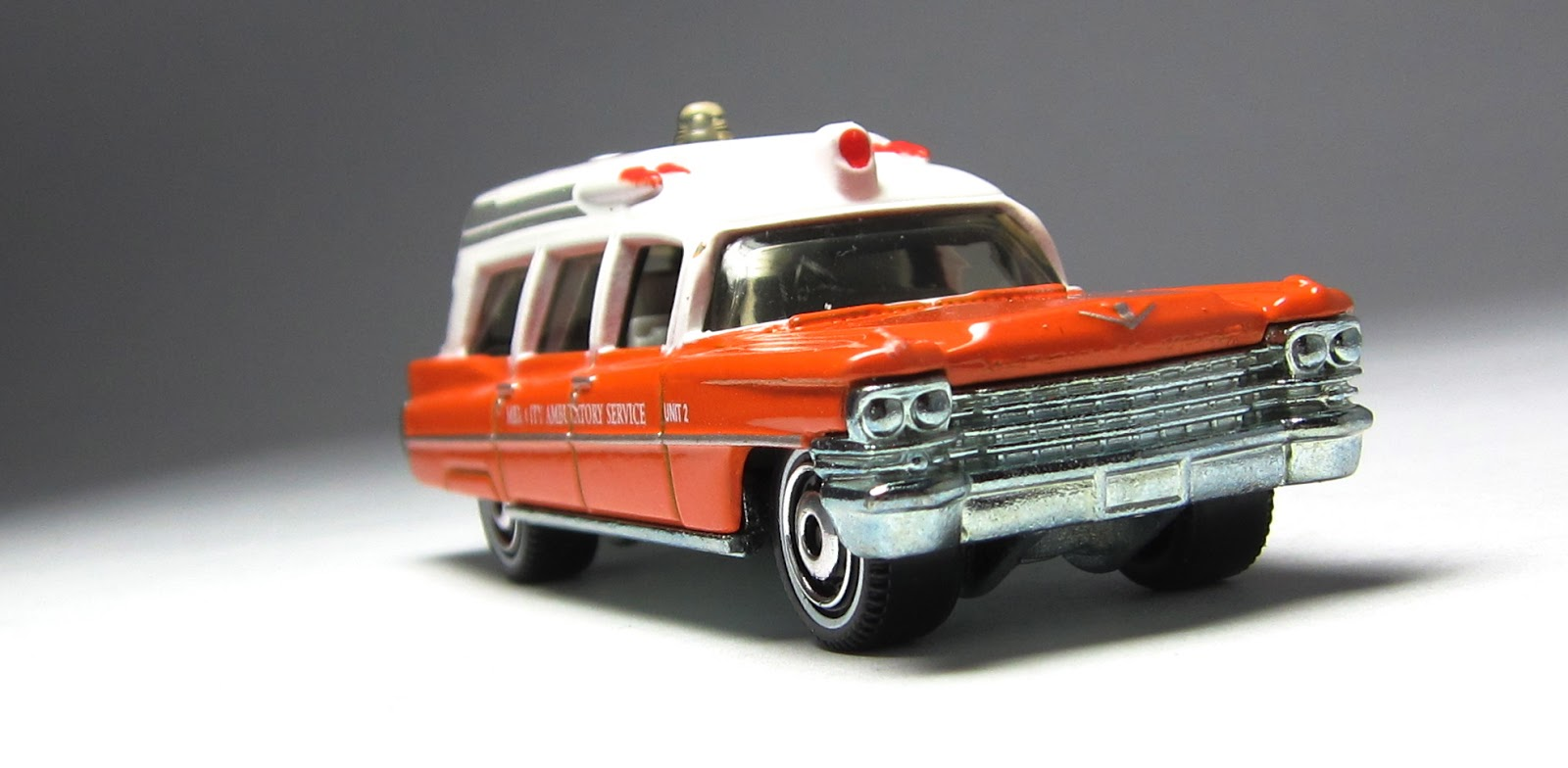 Matchbox Cadillac Ambulance 1963 Cadillac Ambulance
