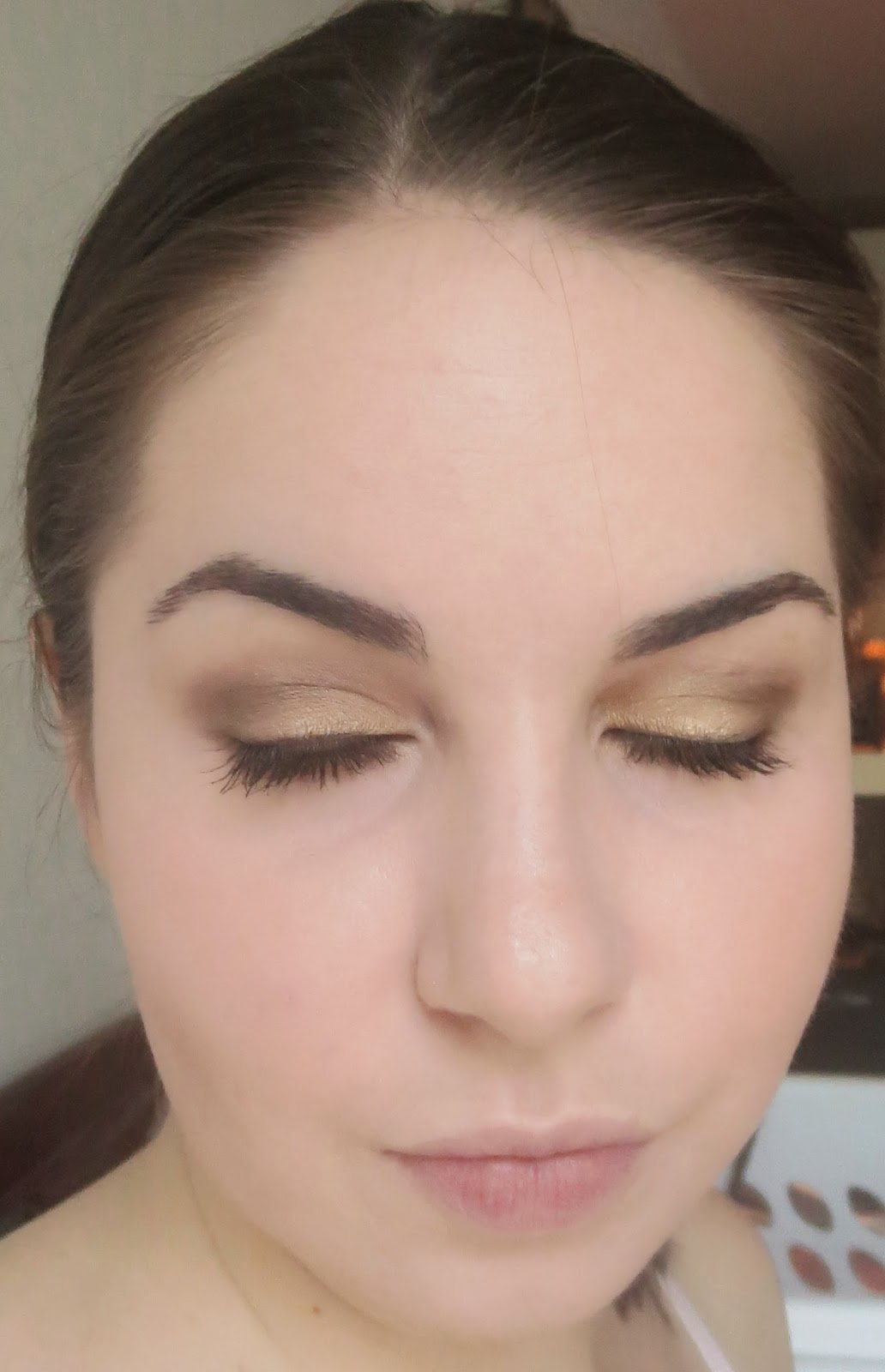 Maybelline The Nudes - Smokey eye