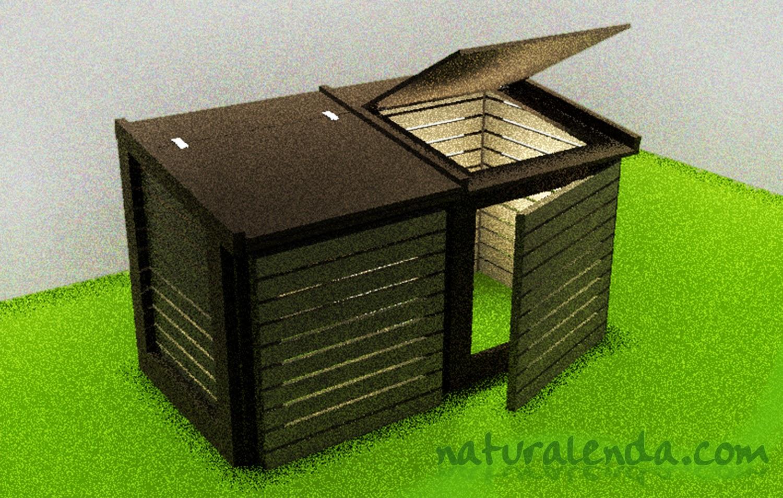 modelo de compostador