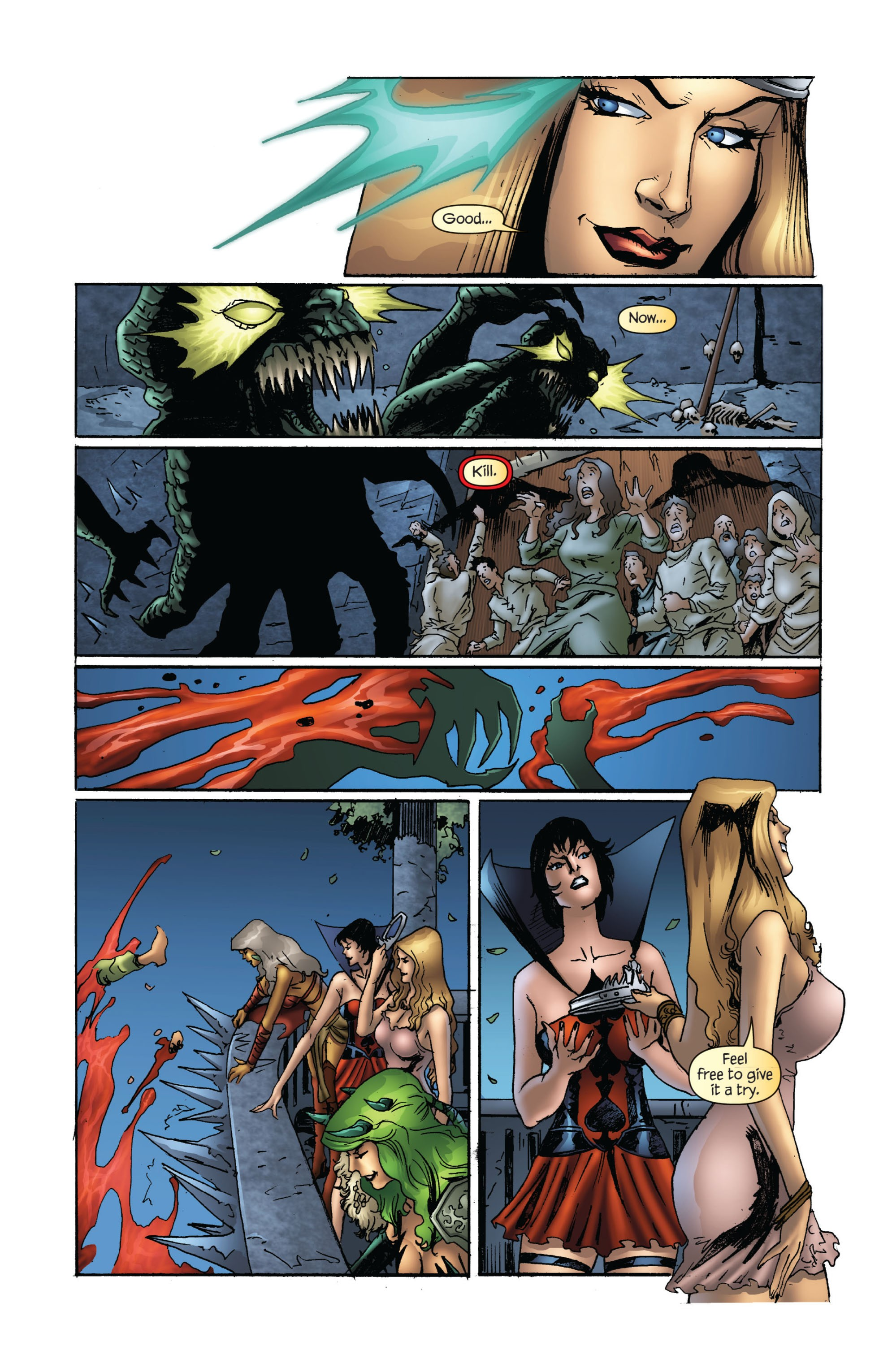 Grimm Fairy Tales (2005) Issue #72 #75 - English 10