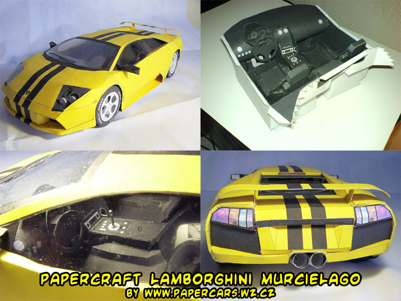 Papercraft Car Lamborghini Papercraft Lamborghini