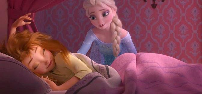 Elsa y Anna amigas inseparables