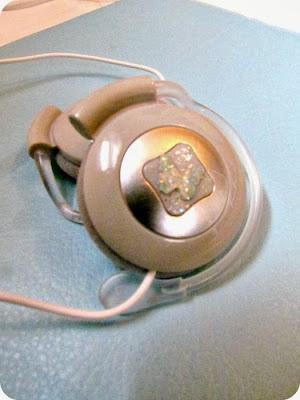 DIY Headphones, Mod Podge