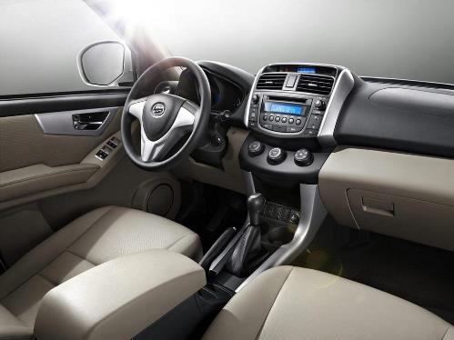 novo Lifan X60 2014 interior