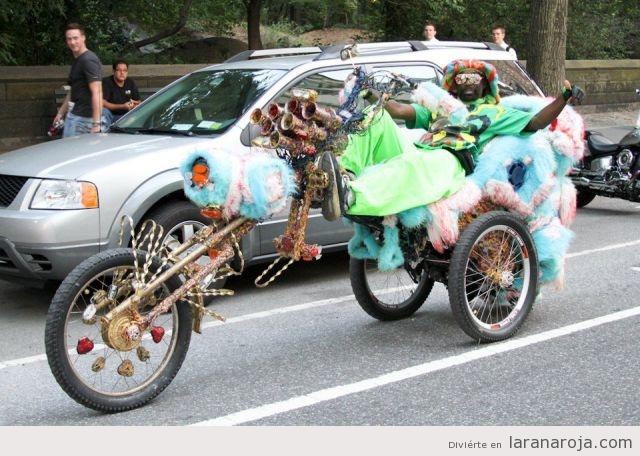 Fotos graciosas de motos