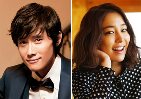 Lee Byung-hun ,Lee Min-jung