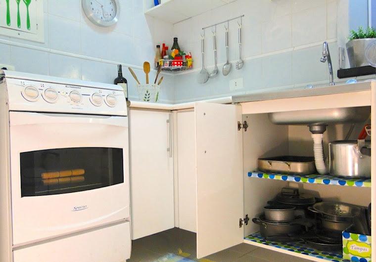 Suficiente Tu Organizas.: Organize - Devo forrar os armários da cozinha? VS09