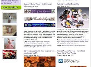 Handmade Artists Blog