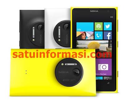 Harga dan Spesifikasi Nokia Lumia 1020 (Terbaru)