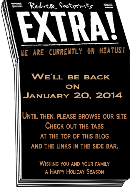 Reduce Footprints is on hiatus.