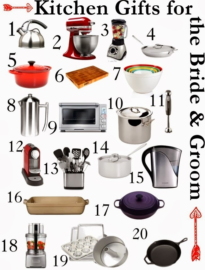 Here Are My Top 20 Picks, Including The Links, For High Performing,  Long Lasting Kitchen Tools That Any Bride And Groom Will Adore.