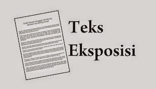 Paragraf / teks Eksposisi