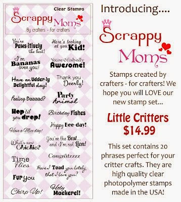 Little Critters stamps by Scrappy Moms Stamps