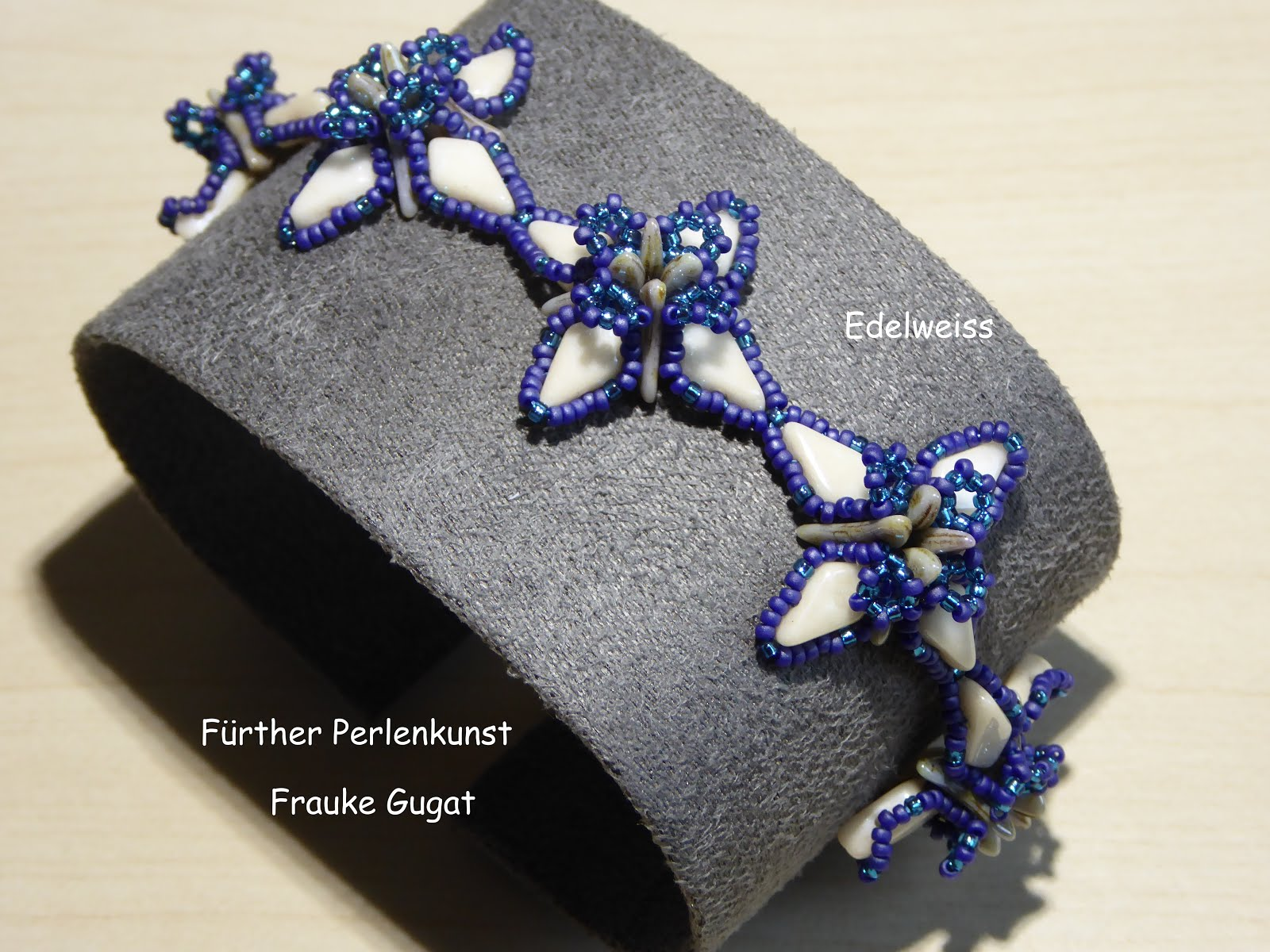 "Armband ""Edelweiss"""